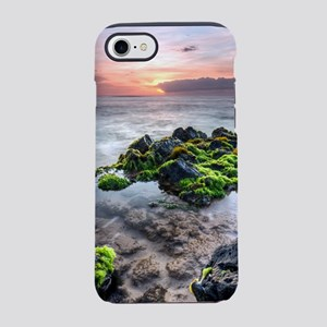 hawaiian tidal pool sunset iPhone 7 Tough Case
